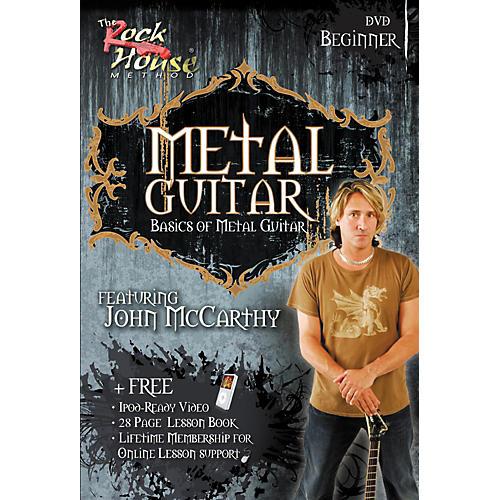 Hal Leonard Metal Guitar Beginner DVD-thumbnail