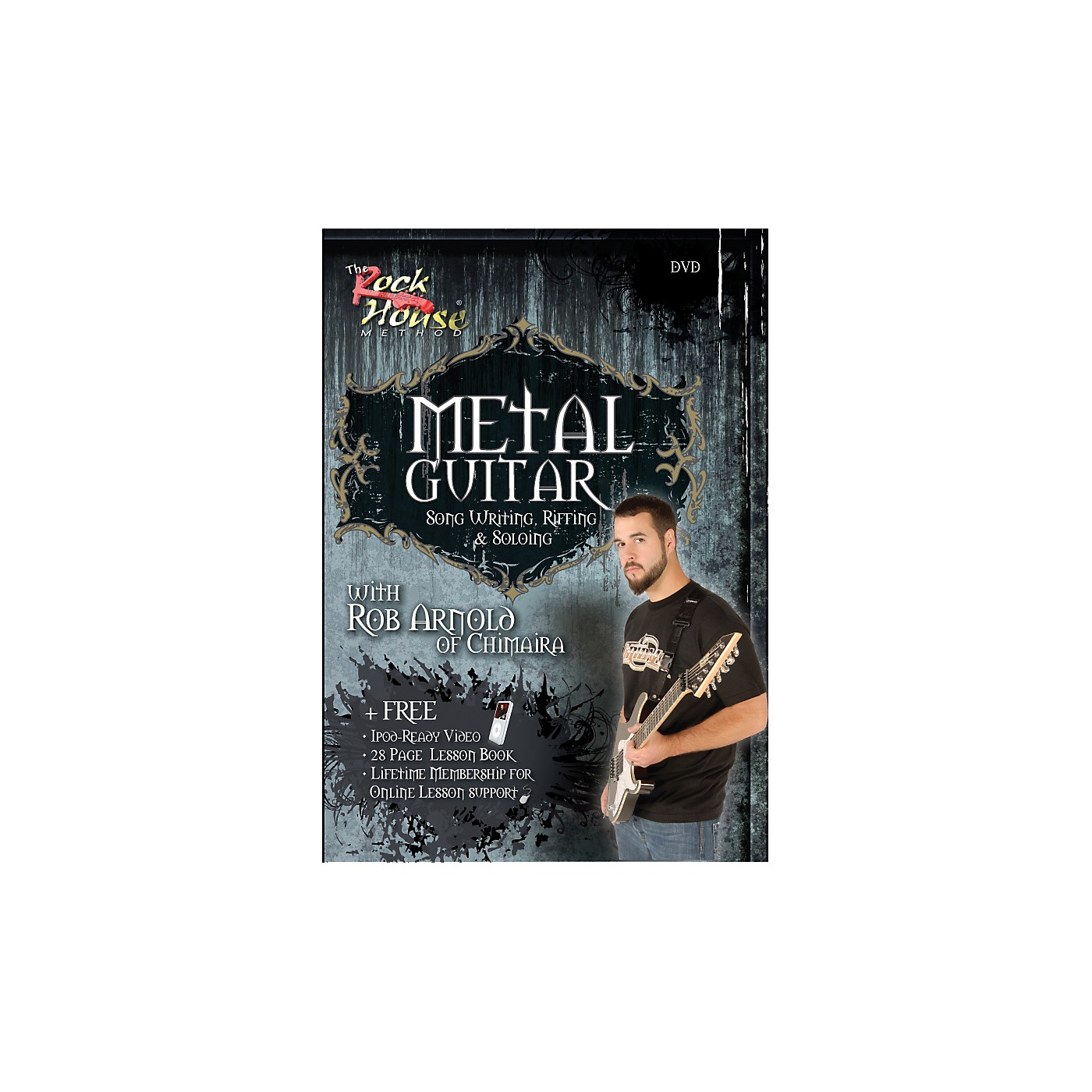 Hal Leonard Metal Guitar, Song Writing, Riffing and Soloing With Rob Arnold of Chimaira DVD thumbnail