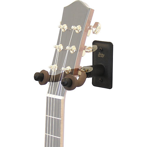 String Swing Metal Guitar Wall Hanger w/ Wall Bumper thumbnail