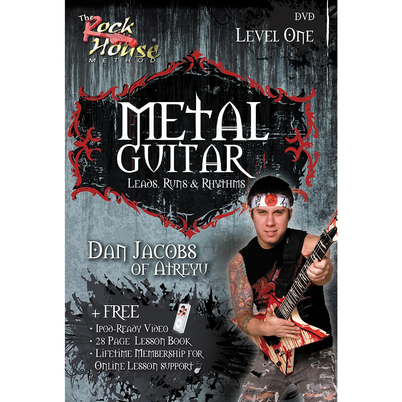 Hal Leonard Metal Guitar with Leads, Runs & Rhythms with Dan Jacobs DVD thumbnail