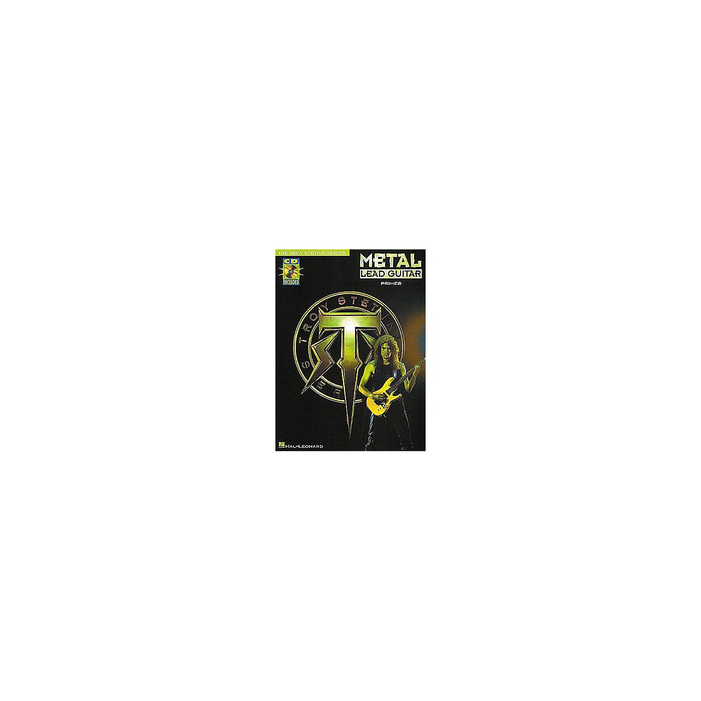 Hal Leonard Metal Lead Guitar Primer (Book/CD) thumbnail