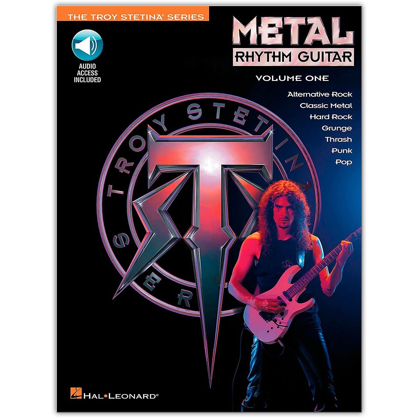 Hal Leonard Metal Rhythm Guitar Volume 1 (Book/Online Audio) thumbnail