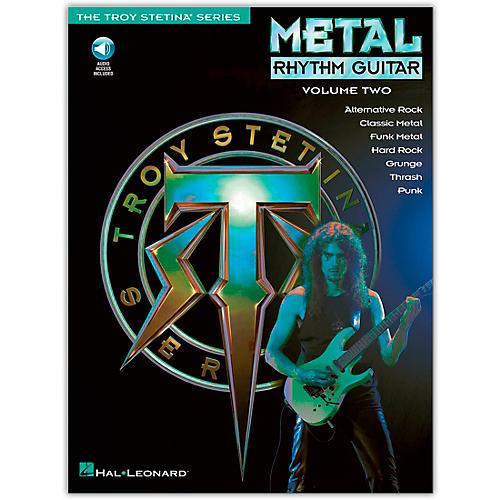 Hal Leonard Metal Rhythm Guitar Volume 2 (Book/Online Audio) thumbnail