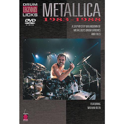 Cherry Lane Metallica - Drum Legendary Licks 1983-1988 DVD thumbnail