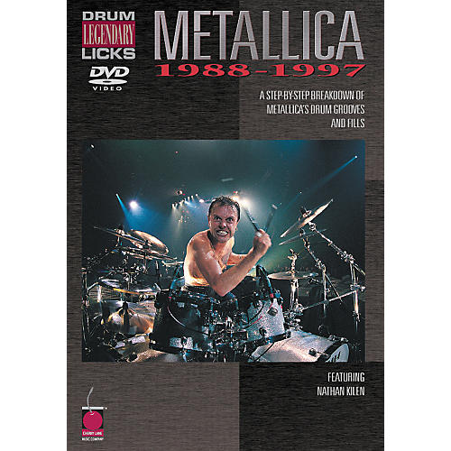 Cherry Lane Metallica - Drum Legendary Licks 1988-1997 DVD thumbnail