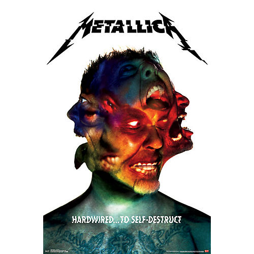 Trends International Metallica - Hardwired Poster thumbnail