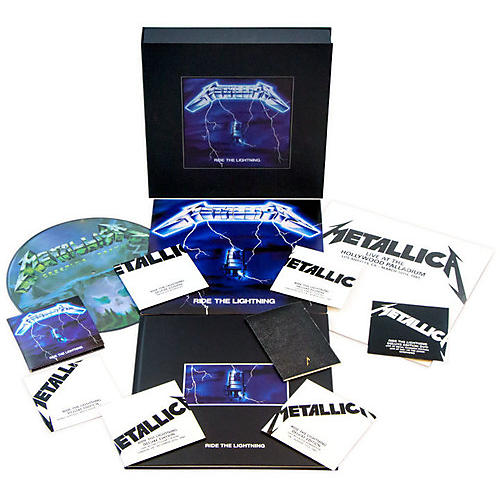 Alliance Metallica - Ride the Lightning (Deluxe Box Set) thumbnail