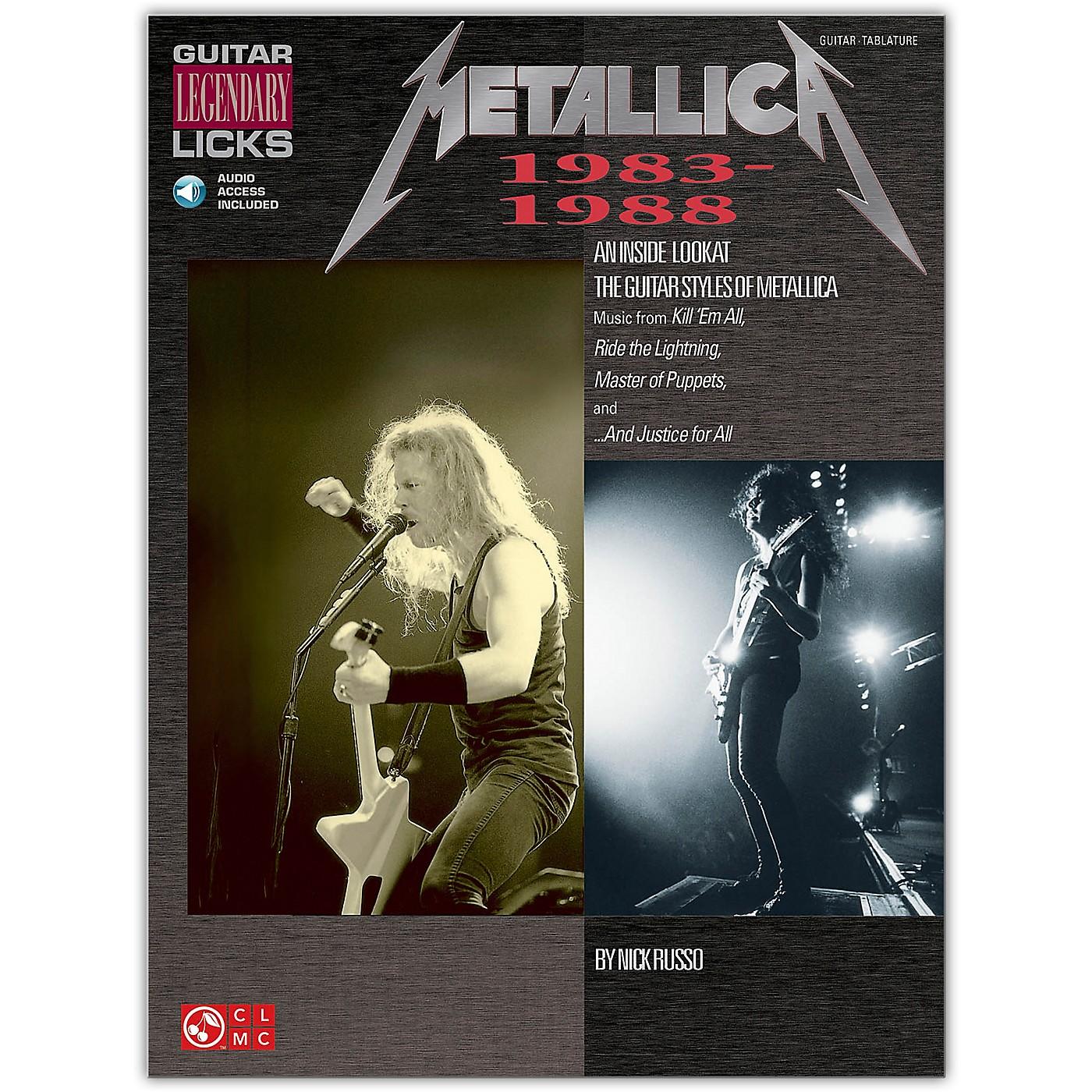 Cherry Lane Metallica Guitar Legendary Licks 1983-1988 Book/Online Audio thumbnail