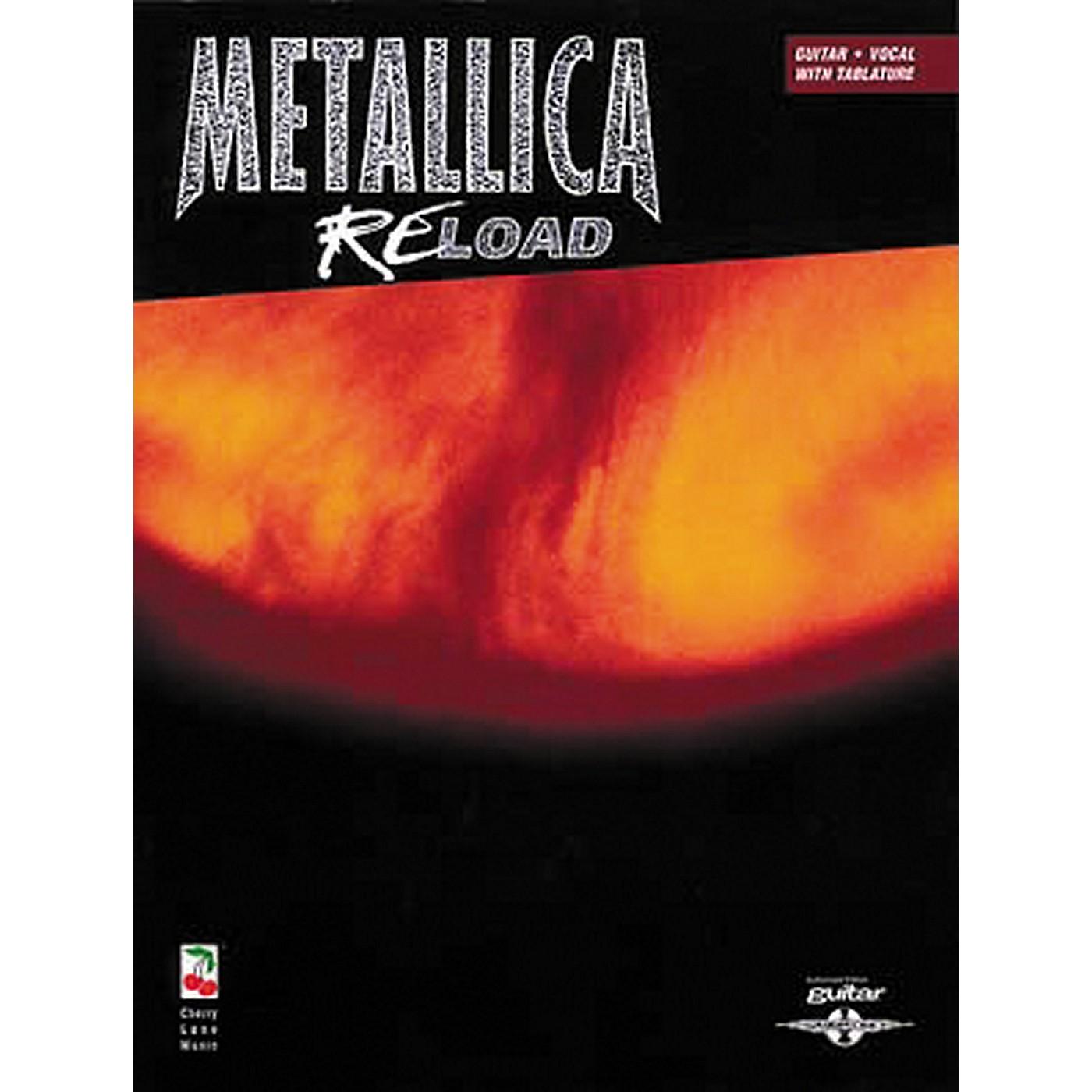 Hal Leonard Metallica Reload Guitar Tab Songbook thumbnail