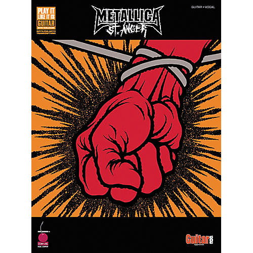 Hal Leonard Metallica St. Anger Guitar Tab Songbook-thumbnail