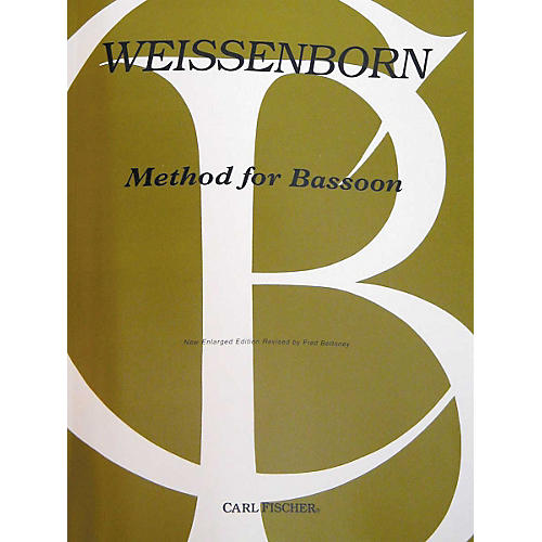 Carl Fischer Method For Bassoon thumbnail