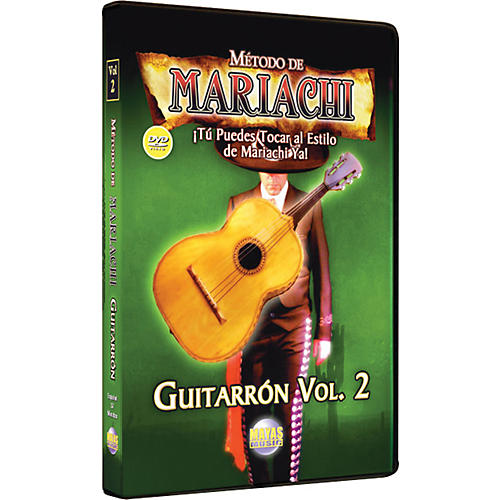 Mel Bay Metodo De Mariachi Guitarron DVD, Volume 2 - Spanish Only-thumbnail