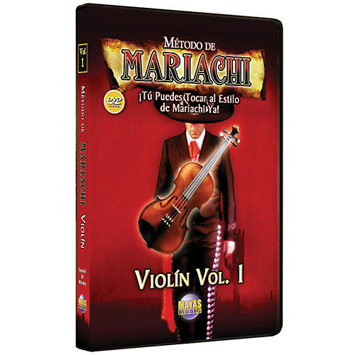 Mel Bay Metodo De Mariachi Violin DVD, Volume 1 - Spanish Only-thumbnail