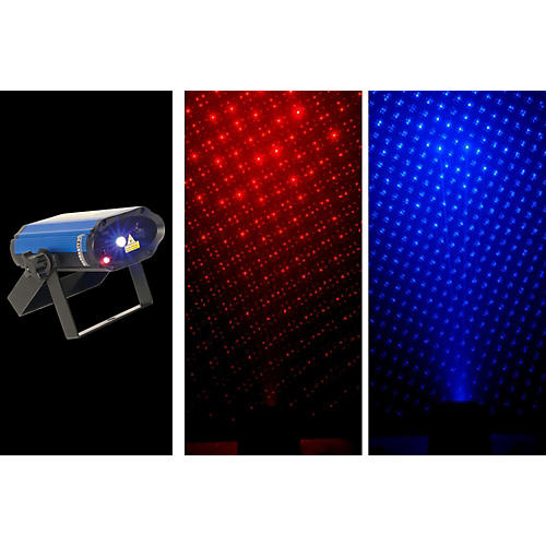 CHAUVET DJ MiN Laser RBX Mini Red & Blue Laser Lighting Effect thumbnail