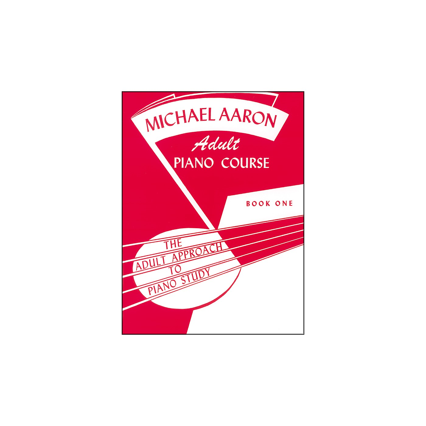 Alfred Michael Aaron Adult Piano Course Book 1 thumbnail