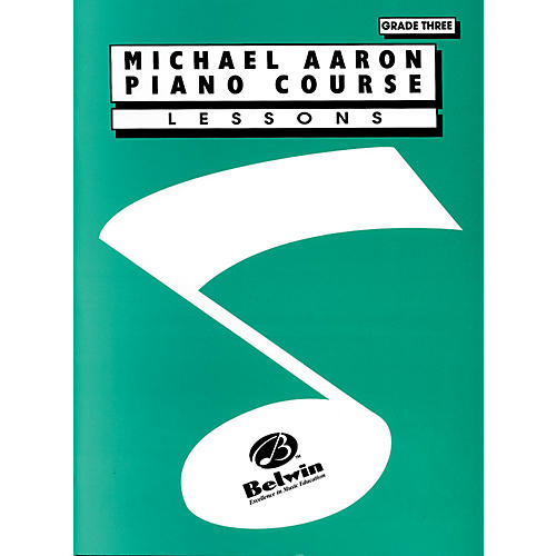 Alfred Michael Aaron Piano Course Lessons Grade 3 thumbnail