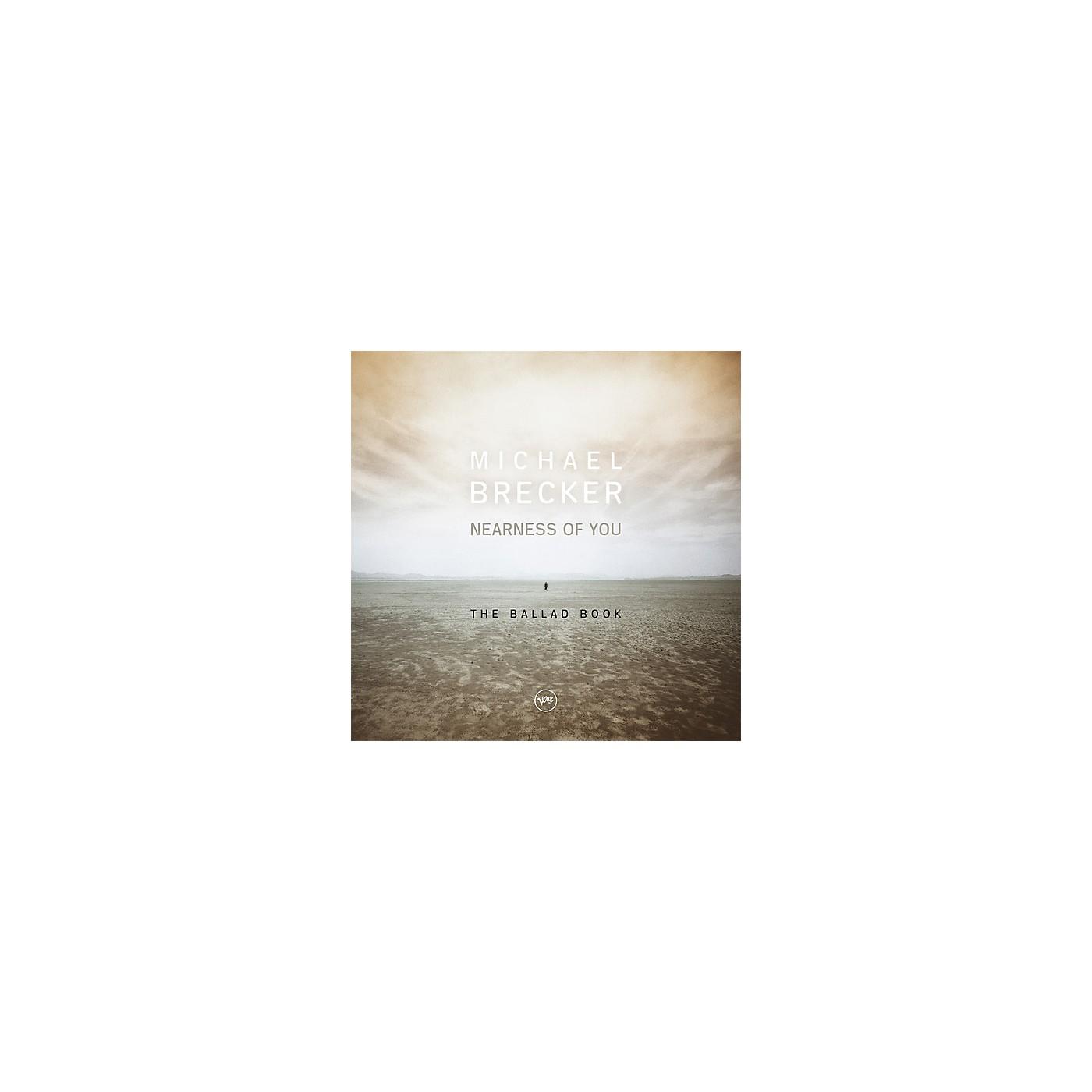 Alliance Michael Brecker - Nearness Of You: The Ballad Book thumbnail
