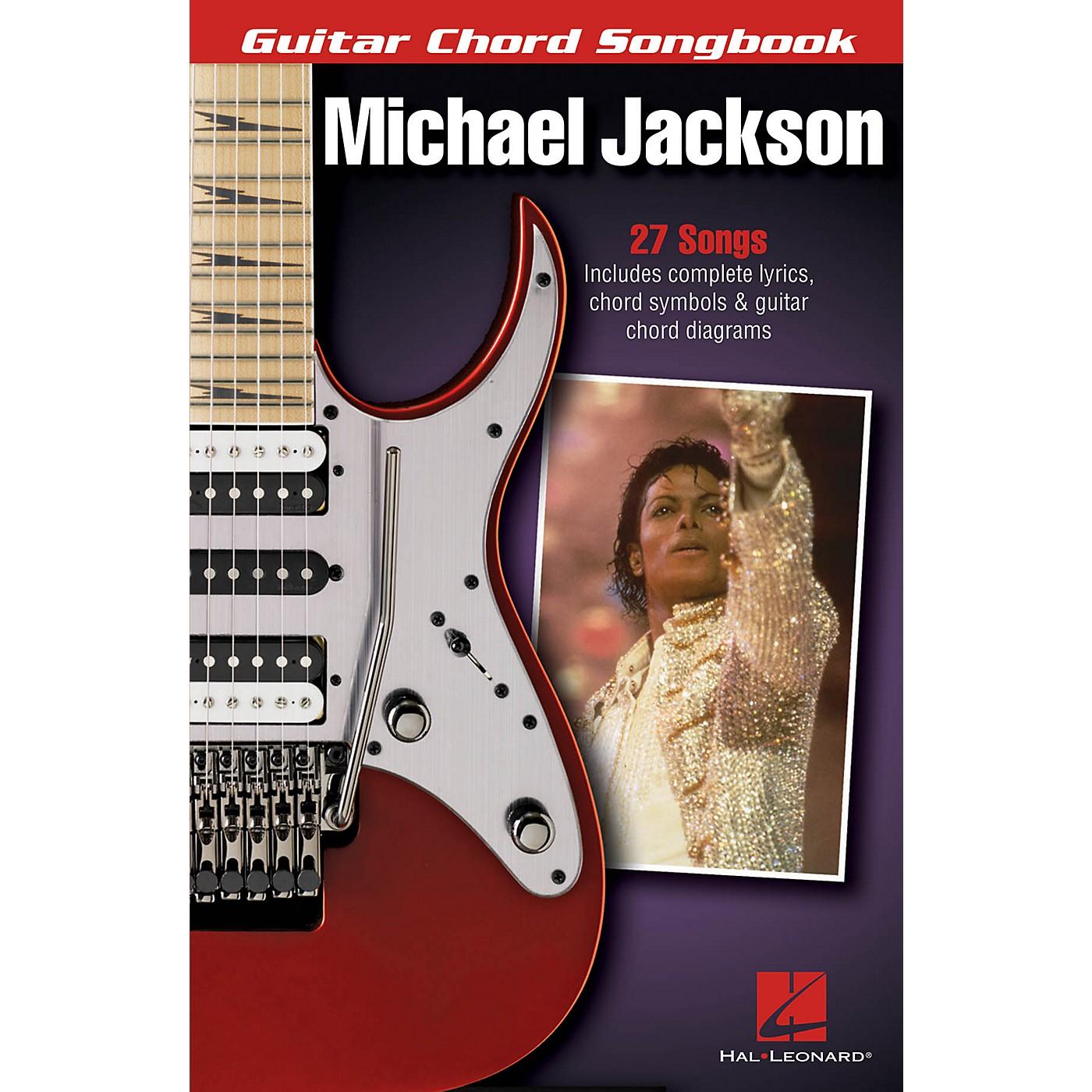 Hal Leonard Michael Jackson - Guitar Chord Songbook Guitar Chord Songbook Series Softcover by Michael Jackson thumbnail