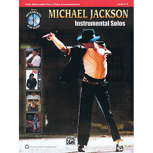 Alfred Michael Jackson - Instrumental Solos Instrumental Play-Along Series Softcover with CD by Michael Jackson thumbnail