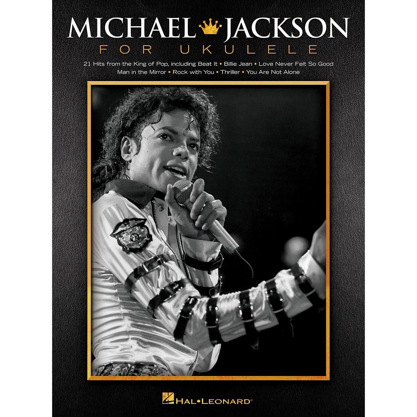 Hal Leonard Michael Jackson For Ukulele thumbnail