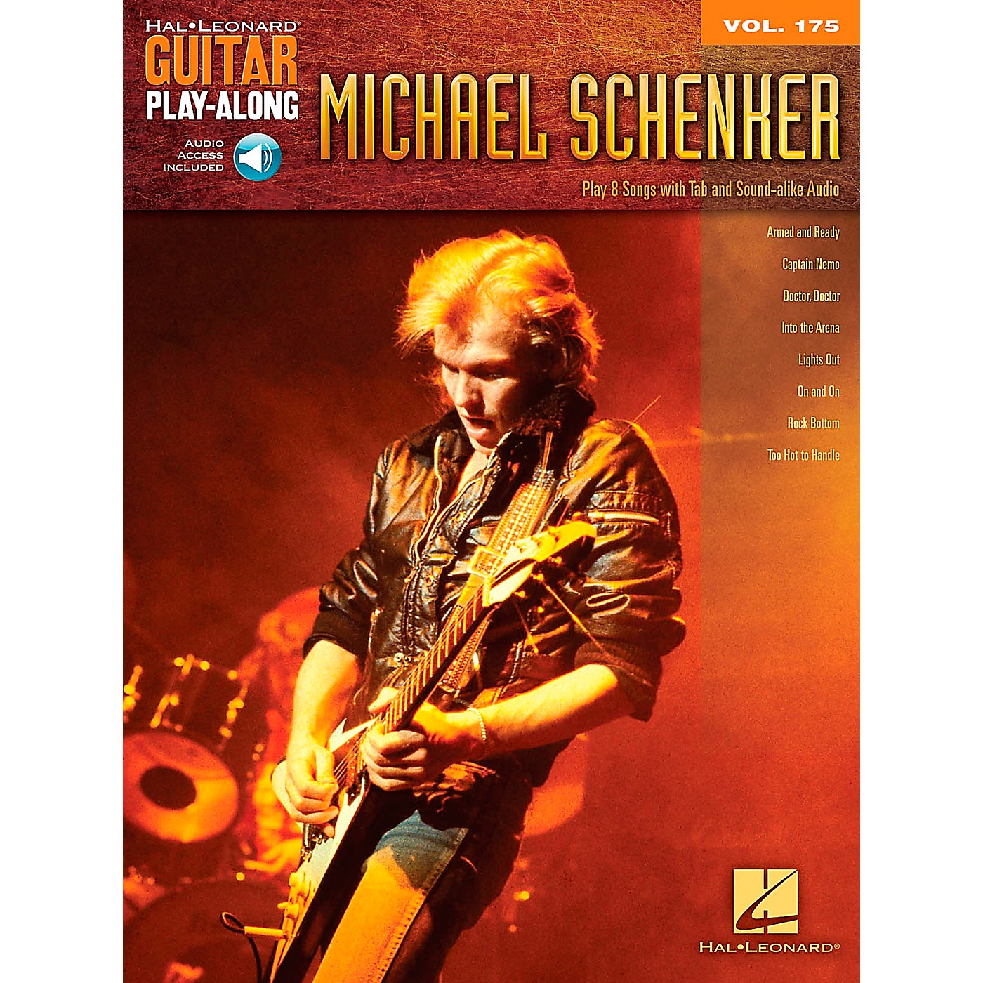 Hal Leonard Michael Schenker - Guitar Play-Along Vol. 175 Book/CD thumbnail