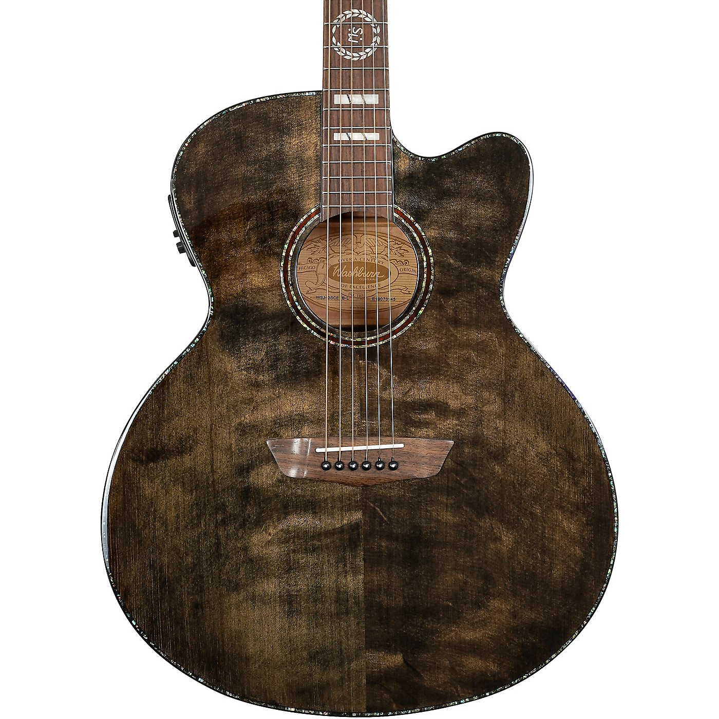 Washburn Michael Sweet J40SCE Acoustic-Electric Guitar thumbnail