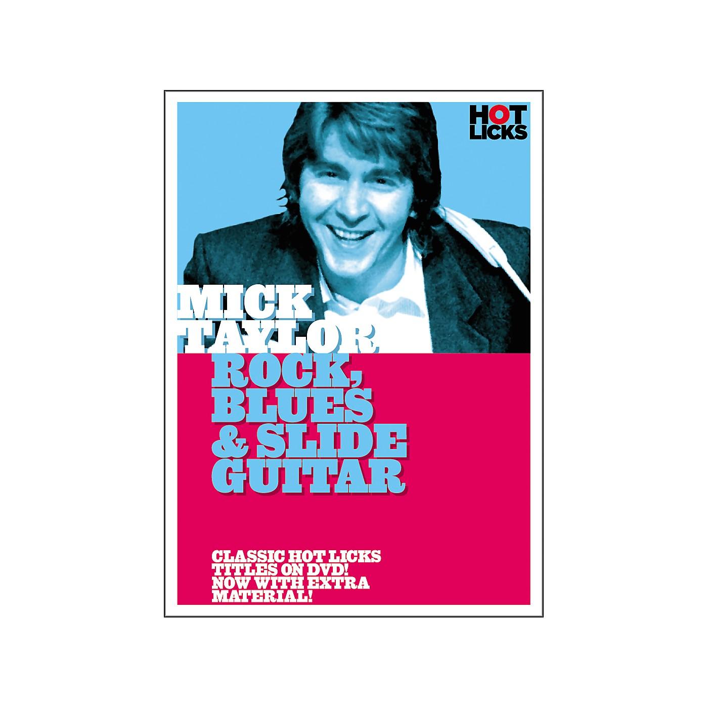 Hot Licks Mick Taylor: Rock Blues and Slide Guitar DVD thumbnail