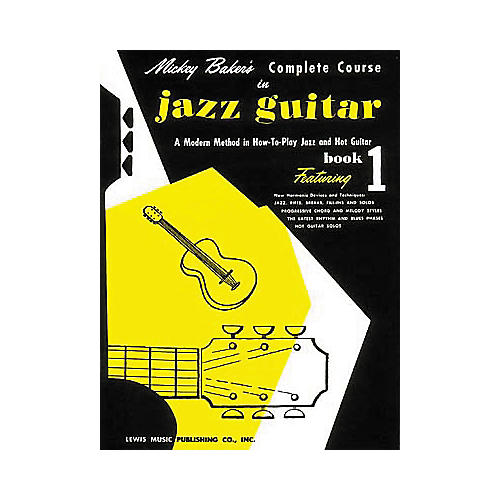 Ashley Mark Mickey Baker's Complete Course in Jazz Guitar 1 Book thumbnail