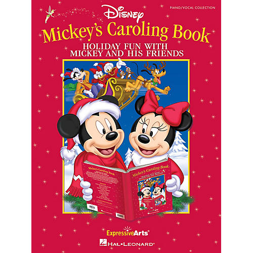 Hal Leonard Mickey's Caroling Book Performance/Accompaniment CD Arranged by Tom Anderson thumbnail