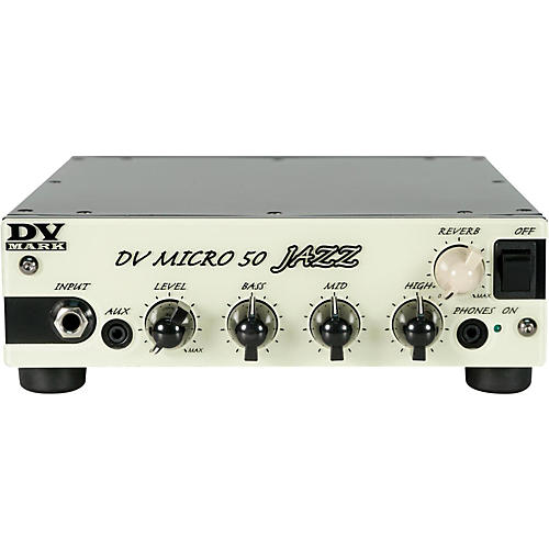 DV Mark Micro 50 Jazz 50W Guitar Amplifier Head thumbnail