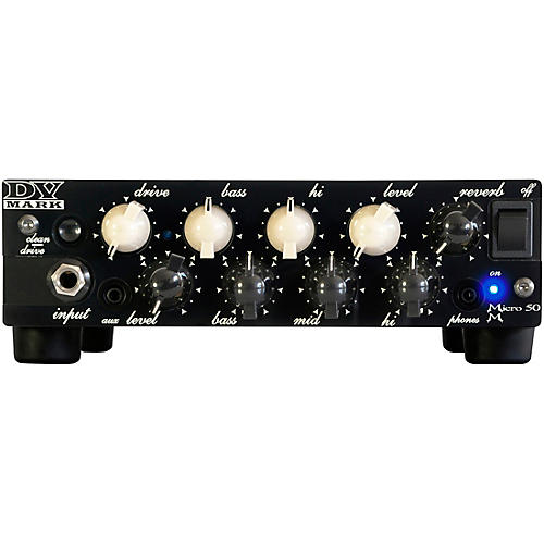 DV Mark Micro 50 M 50W Guitar Amp Head thumbnail