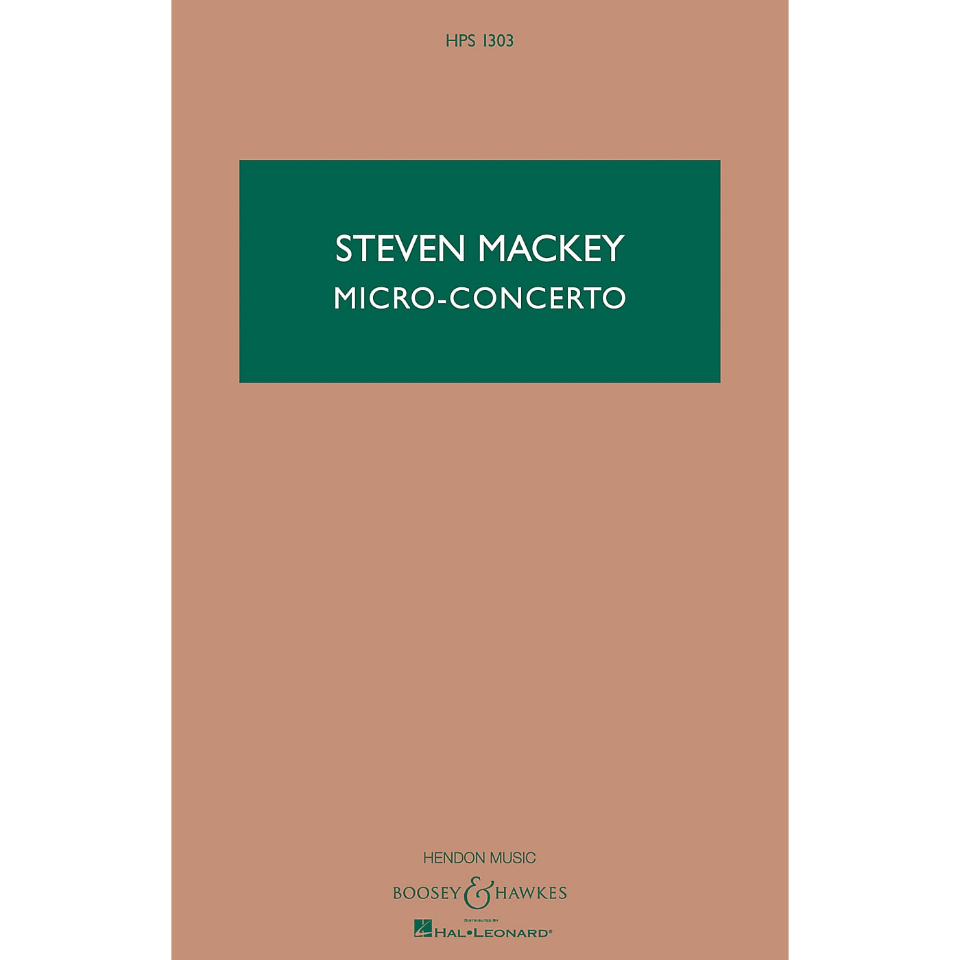 Boosey and Hawkes Micro-Concerto (Percussionist and Mixed Quintet) Boosey & Hawkes Scores/Books Series by Steven Mackey thumbnail