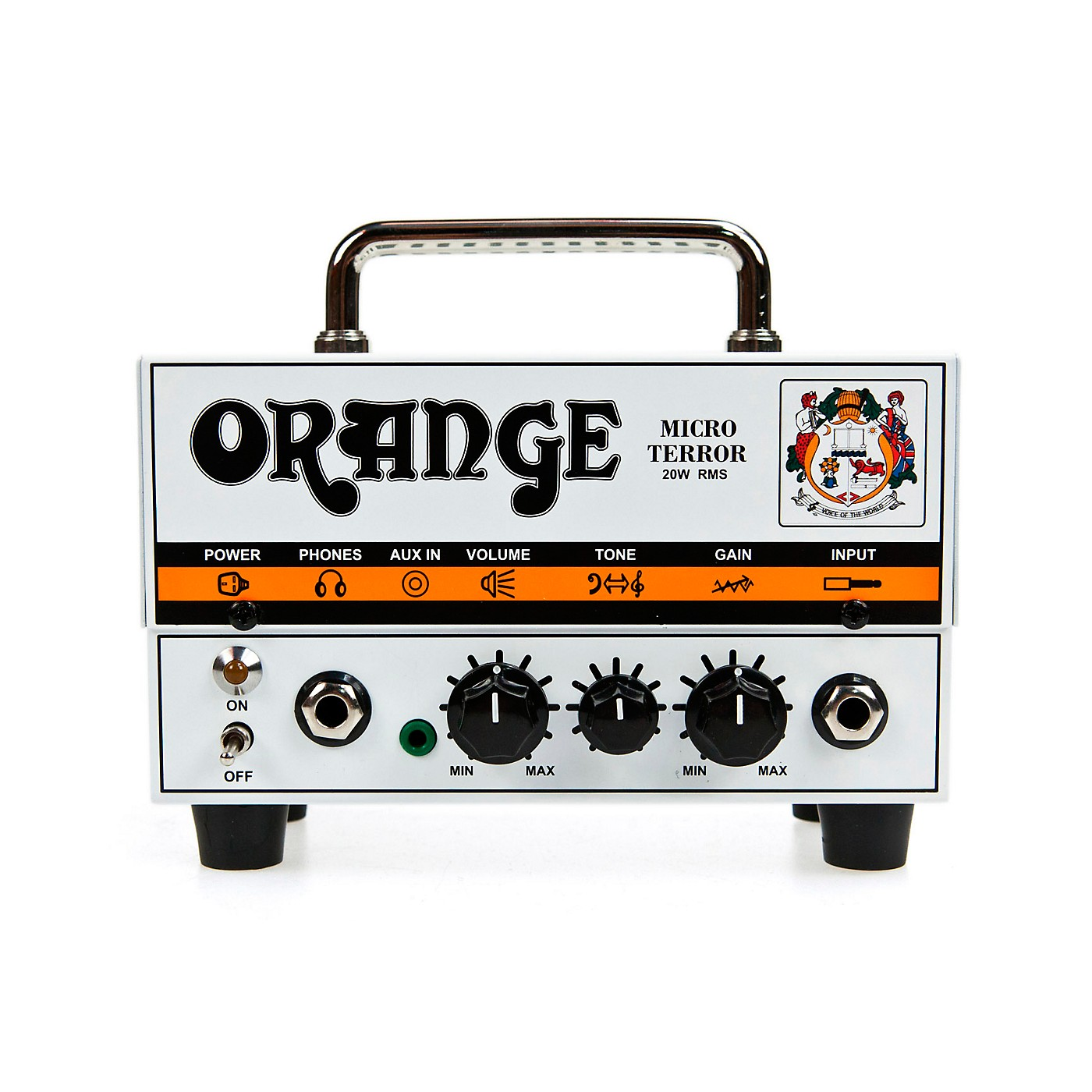 Orange Amplifiers Micro Terror MT20 20W Hybrid Guitar Amp Head thumbnail