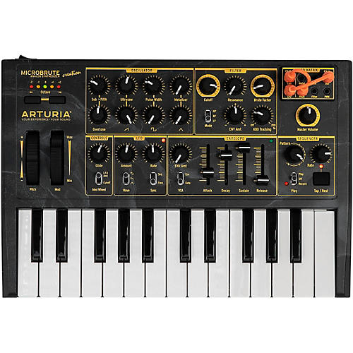 Arturia MicroBrute Creation Edition Analog Synthesizer thumbnail