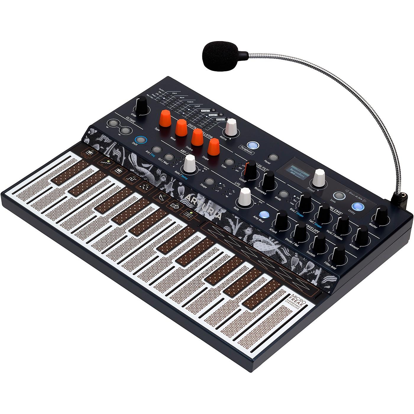 Arturia MicroFreak Hybrid Synthesizer and Gooseneck Mic thumbnail