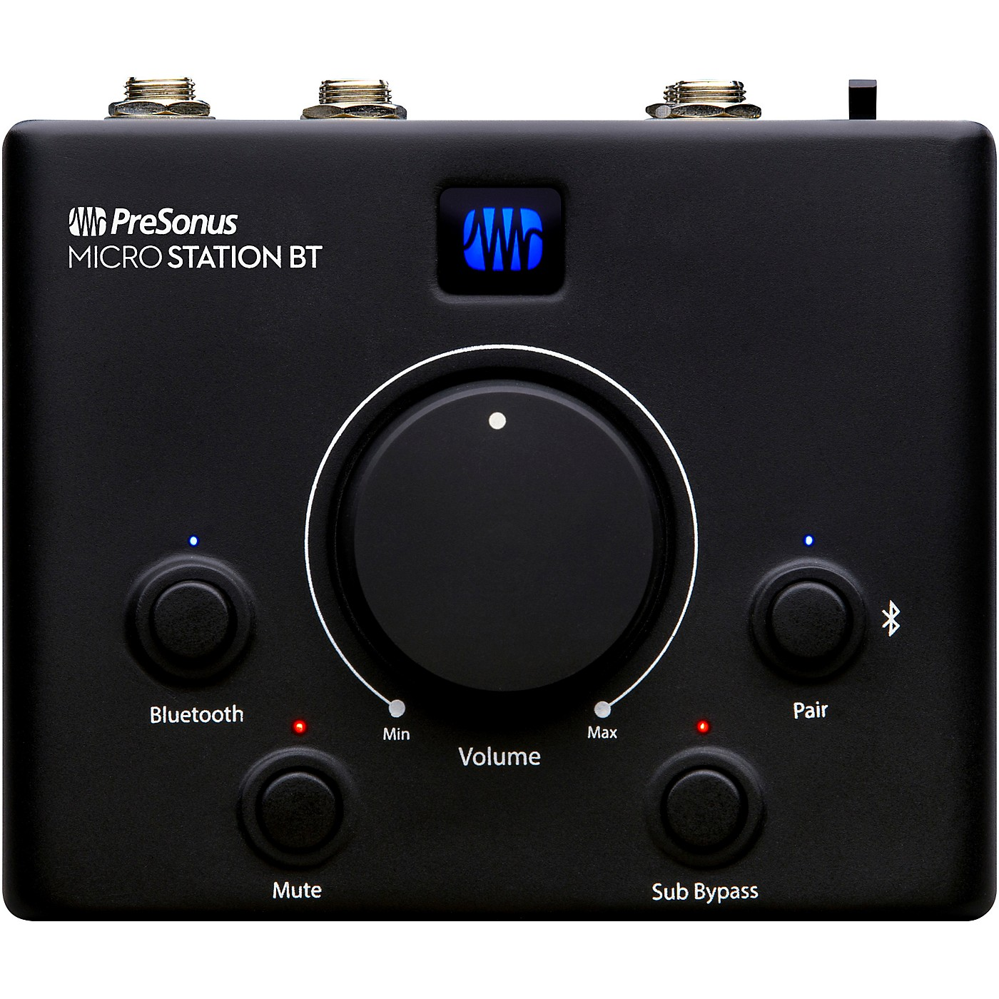Presonus MicroStation BT 2.1 Monitor Controller With BT Input and Dedicated Subwoofer Output thumbnail