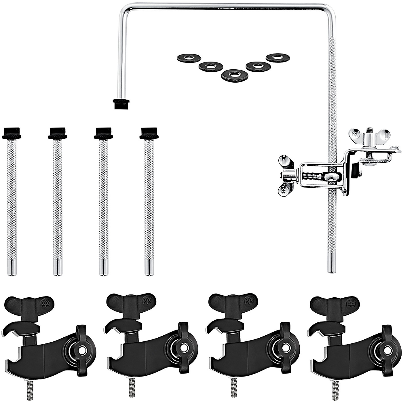 Meinl Microphone Clamp Set for Drum Kit thumbnail