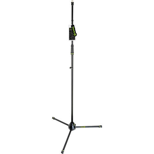 Gravity Stands Microphone Stand Straight With Folding Tripod Base thumbnail