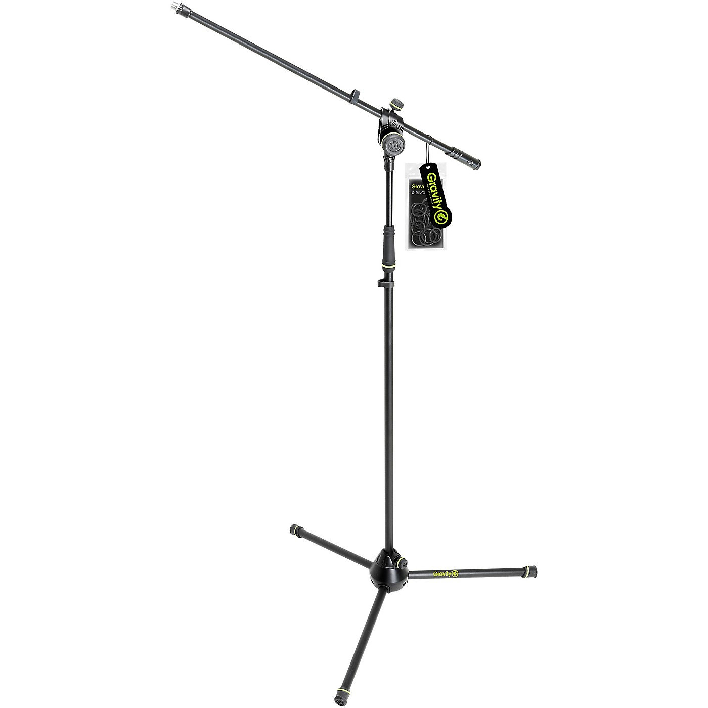 Gravity Stands Microphone Stand With Folding Tripod Base 2-Point Adjusting Boom thumbnail