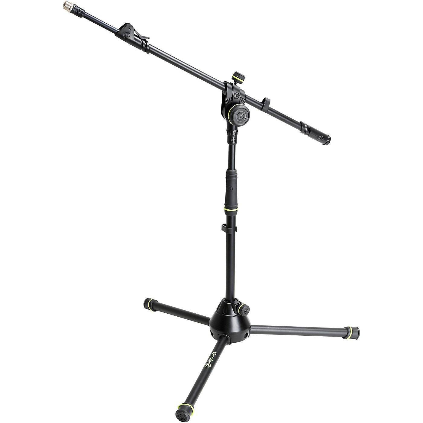 Gravity Stands Microphone Stand With Folding Tripod Base And 2-Point Adjustment Telescoping Boom Short thumbnail