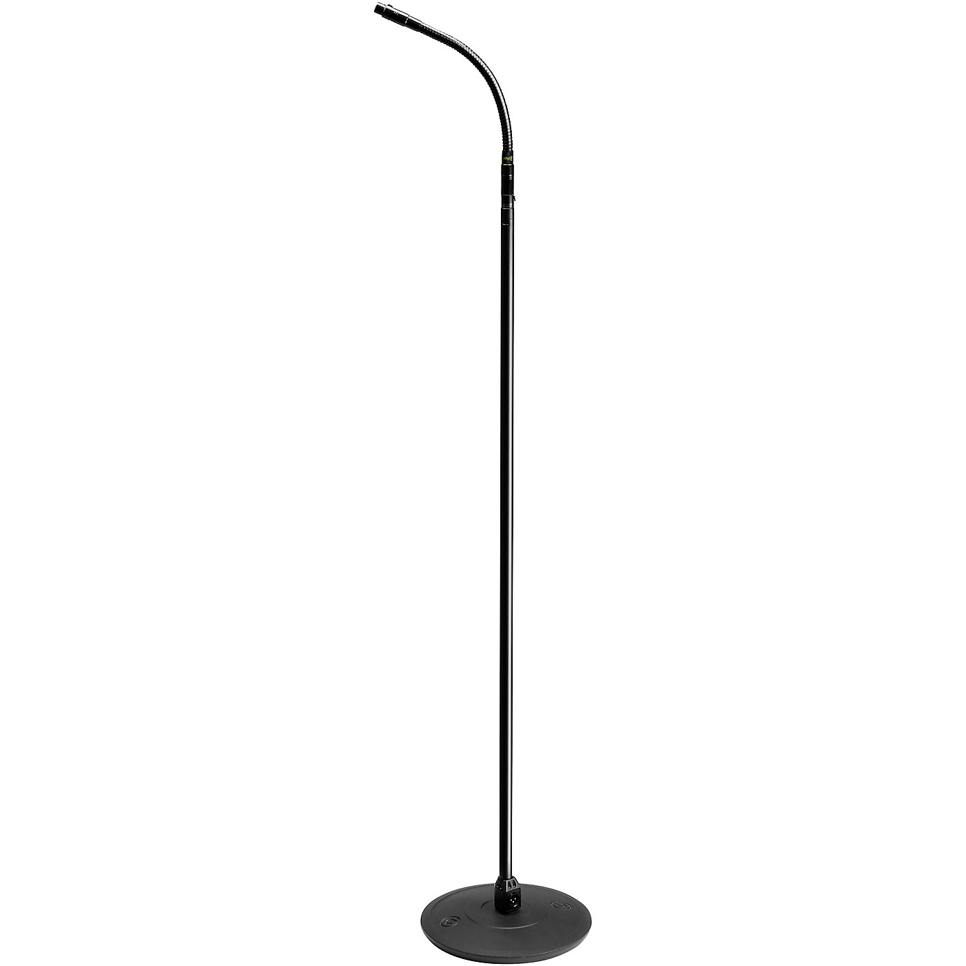 Gravity Stands Microphone Stand With Round Base, XLR Connector and Gooseneck thumbnail