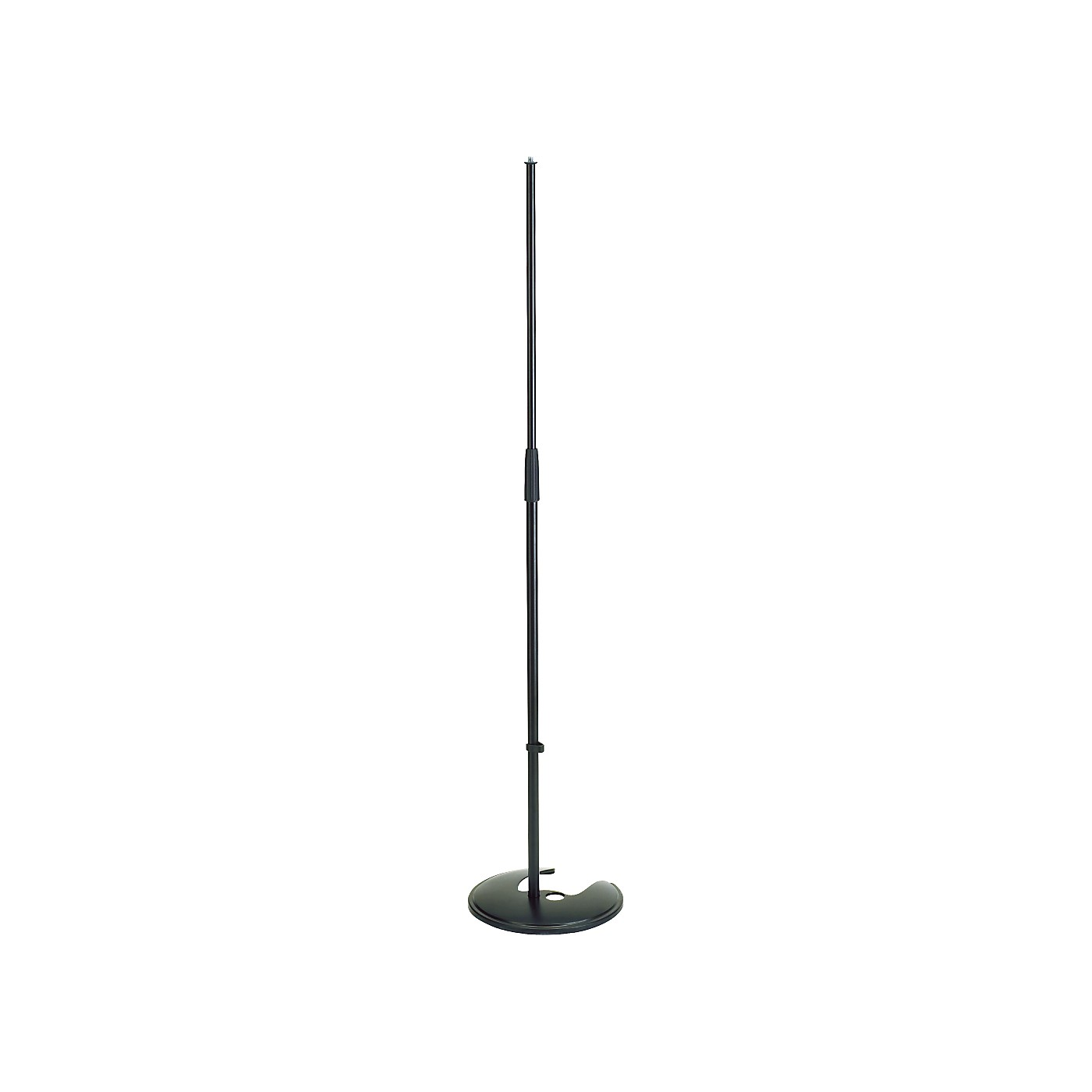 K&M Microphone Stand with Stackable Round Base thumbnail