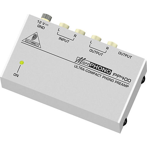 Behringer Microphono PP400 Phono Preamp thumbnail