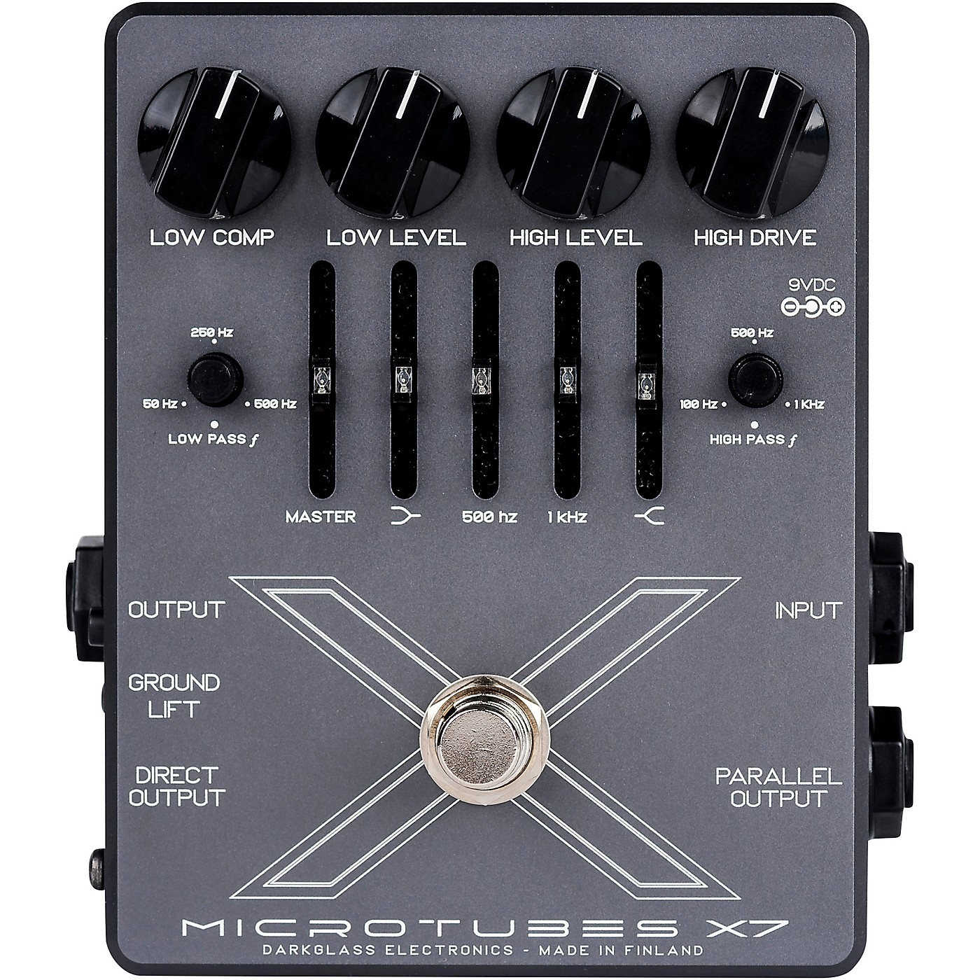 Darkglass Microtubes X7 Distortion Bass Effects Pedal thumbnail