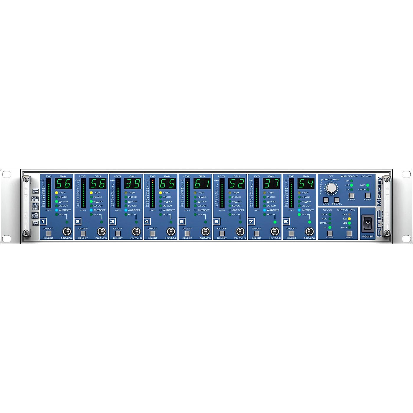RME Micstasy M 8-Channel 24 Bit 192Khz Preamp 64 MADI thumbnail
