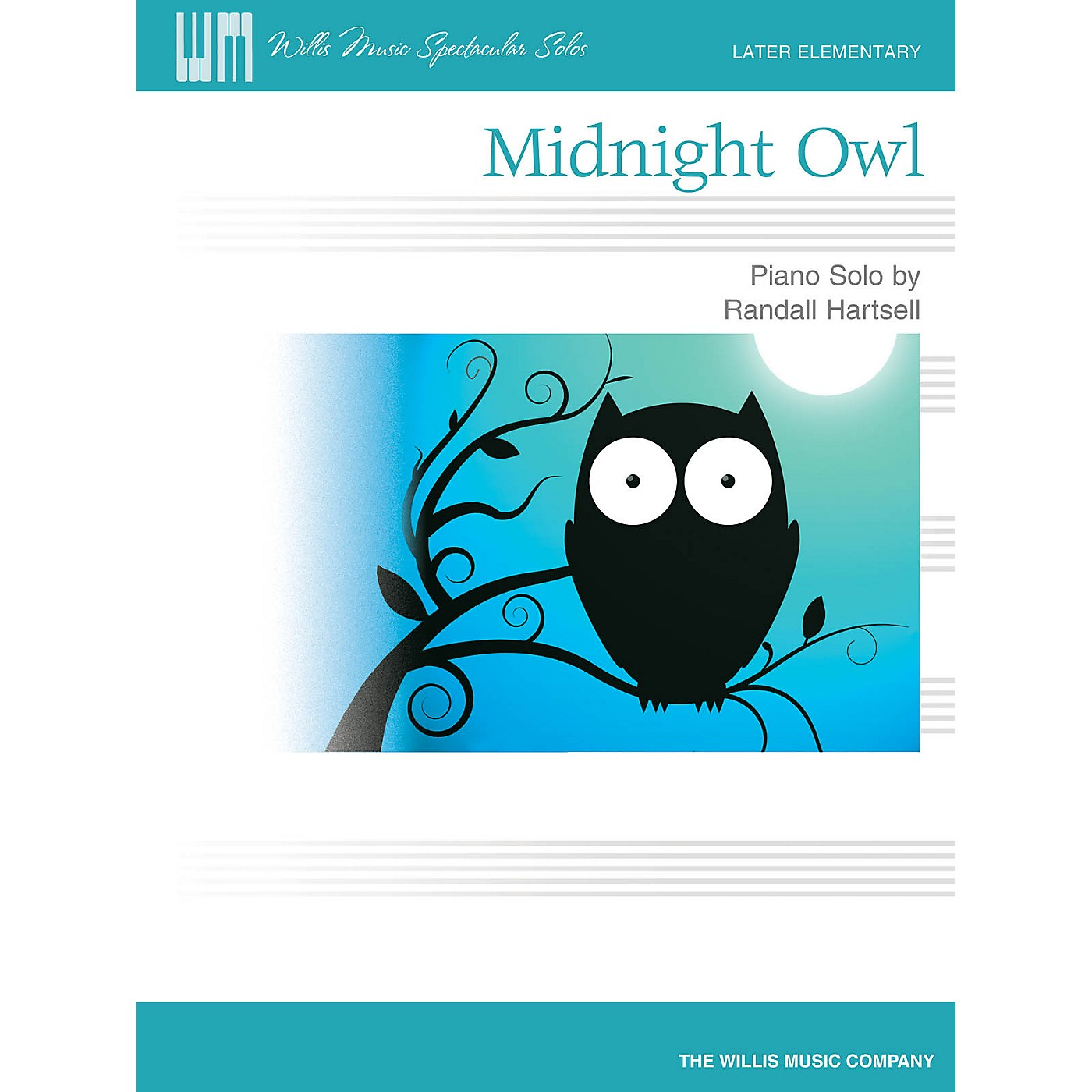 Willis Music Midnight Owl (Later Elem Level) Willis Series by Randall Hartsell thumbnail