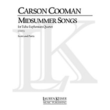 Lauren Keiser Music Publishing Midsummer Songs (Tuba Quartet) LKM Music Series Composed by Carson Cooman