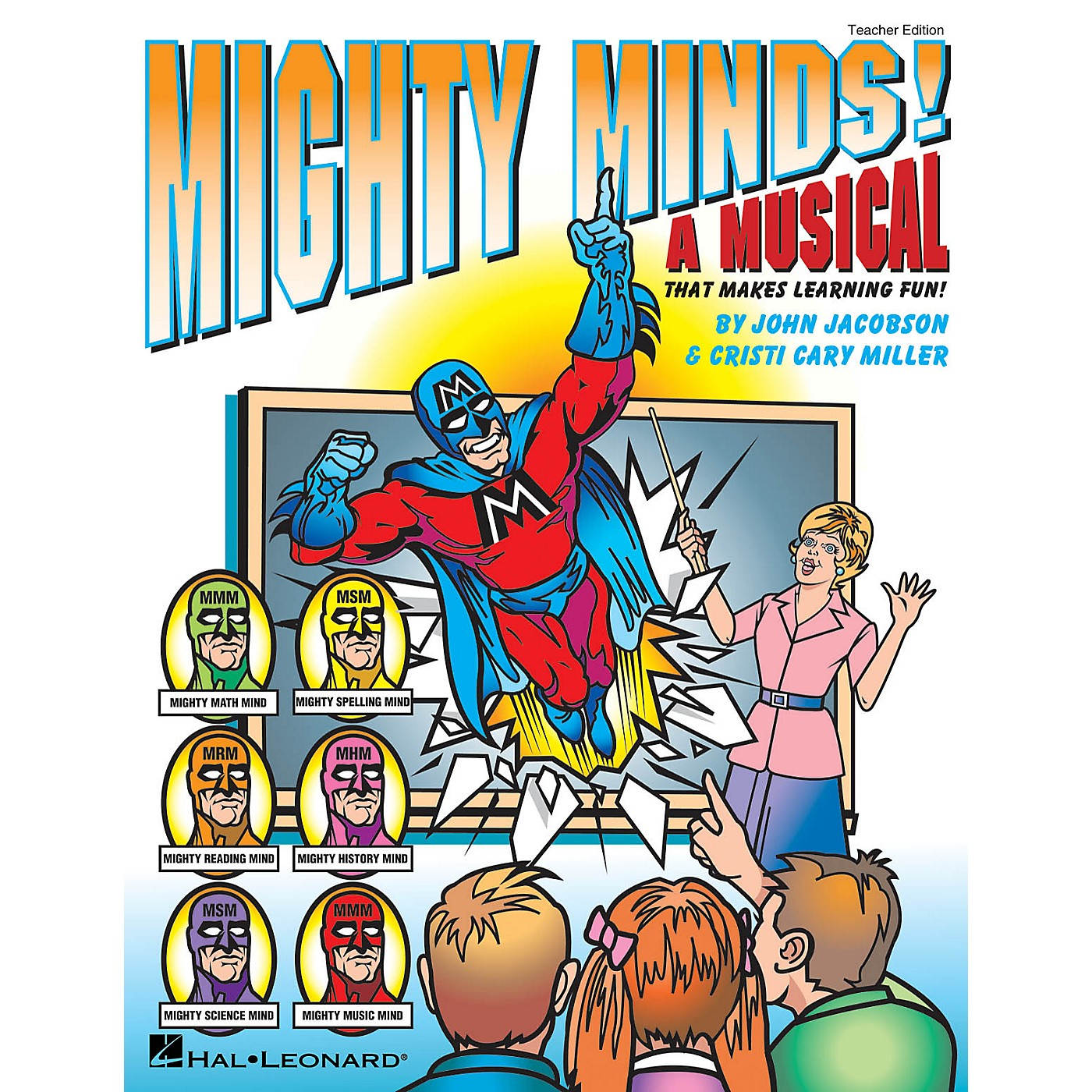 Hal Leonard Mighty Minds! (A Musical That Makes Learning Fun!) PREV CD Composed by Cristi Cary Miller thumbnail