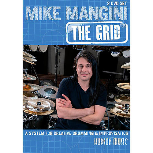 Hudson Music Mike Mangini: The Grid For Creative Drumming (2-DVD Set) thumbnail