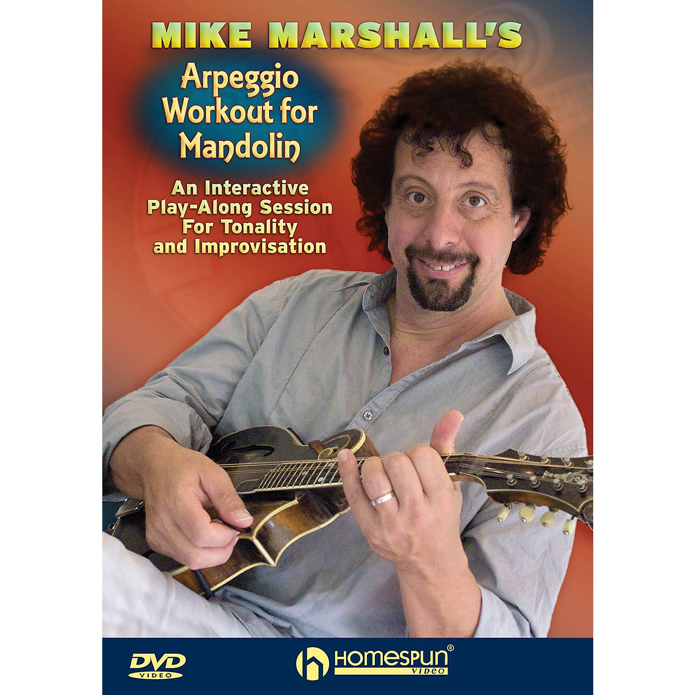 Homespun Mike Marshall's Arpeggio Workout for Mandolin Homespun Tapes Series DVD Performed by Mike Marshall thumbnail